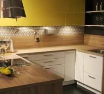 kuchenruckwand holz kuchenspiegel tipps, küchenrückwand – trendige alternativen zum klassischen fliesenspiegel, Design ideen