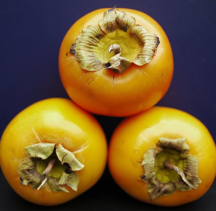 Kaki Frucht kaki essen sharon frucht drei