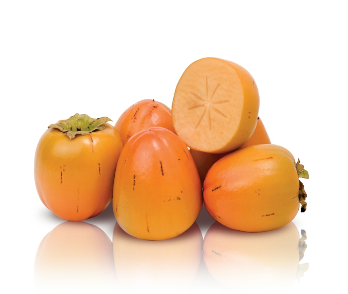 Kaki Frucht kaki essen sharonfrucht stückchen khaki vitamine obst