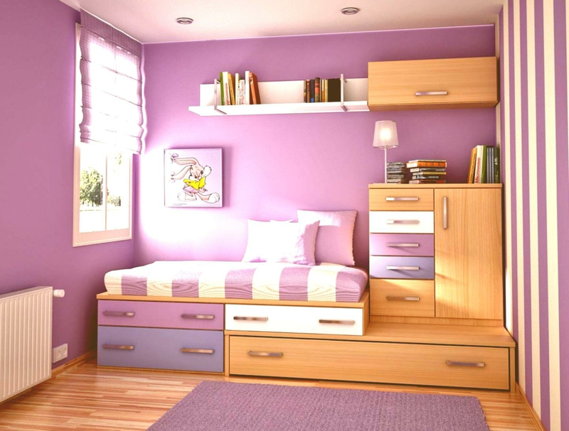 Kleines Schlafzimmer mit gut design für ihr wohnideen