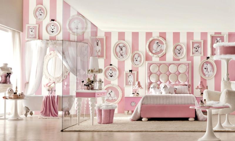 Mädchen Kinderzimmer komplett Set Luxus Kindermöbel