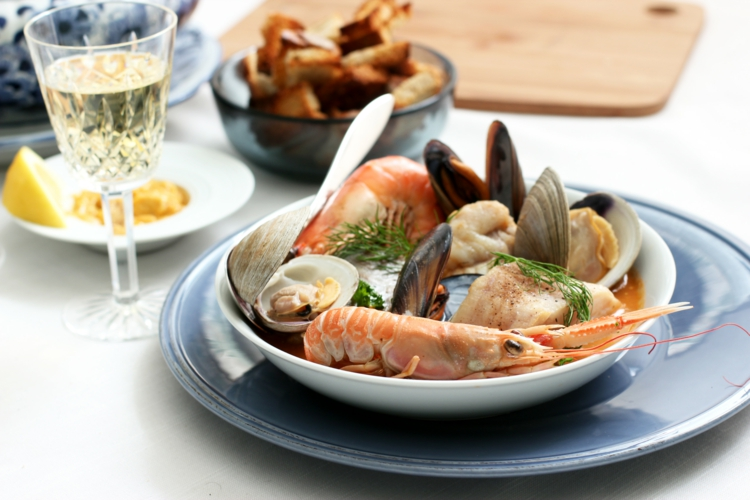 Meeresfrüchte Rezepte Garnelen gesunde Ernährung Tipps