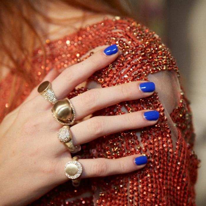 Nageldesign Bildergalerie Fingernägel Trends Blau