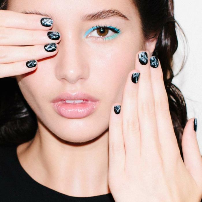 Nageldesign Bildergalerie Muster Fingernägel Trends