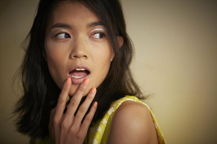Nageldesign Ideen Fingernägel Trends Veronica Beard Spring 2015