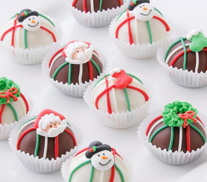 Nikolaus Basteln bastelideen weihnachten cupcakes