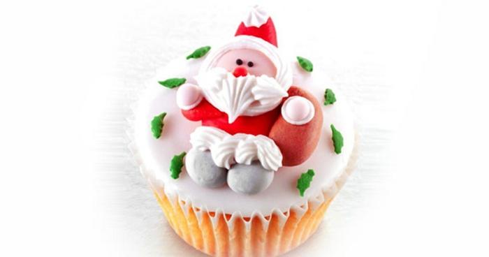 Nikolaus Basteln bastelideen weihnachten muffin