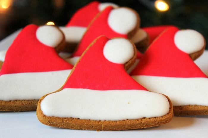 Nikolaus Basteln bastelideen weihnachten weihnachtsmuetzen