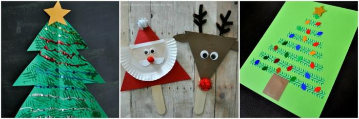 Nikolaus Basteln basteln weihnachten bastelideen weihnachten karten