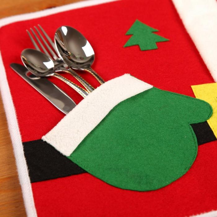 Nikolaus Basteln basteln weihnachten bestecktasche