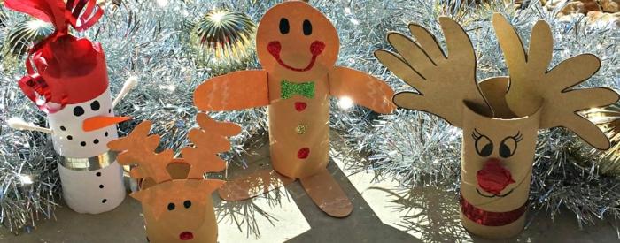 Nikolaus Basteln basteln weihnachten klopapier