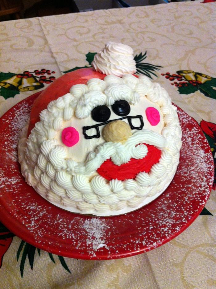 Nikolaus Basteln basteln weihnachten torte backen
