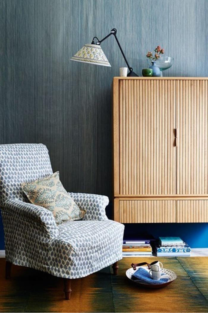 Raumgestaltung Ideen Wohnzimmer Holzmöbel