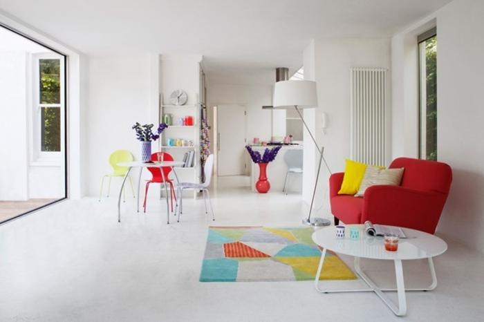 Raumgestaltung Ideen Wohnzimmer Möbel Farbmischung