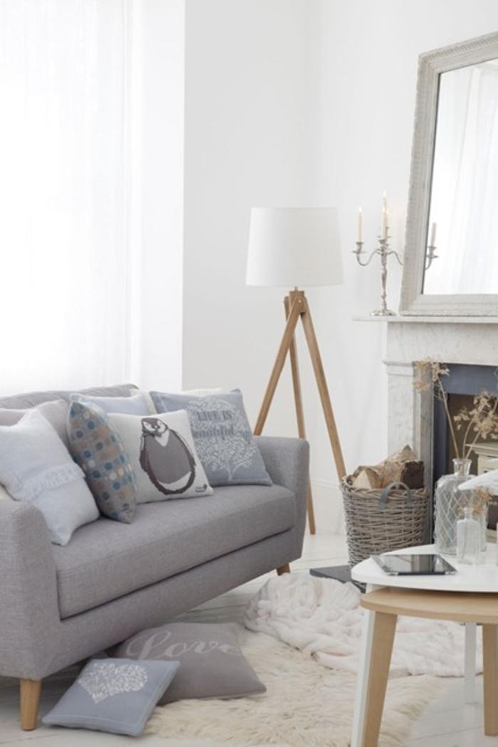 Raumgestaltung Ideen Wohnzimmer Möbel neutrale Farbgestaltung