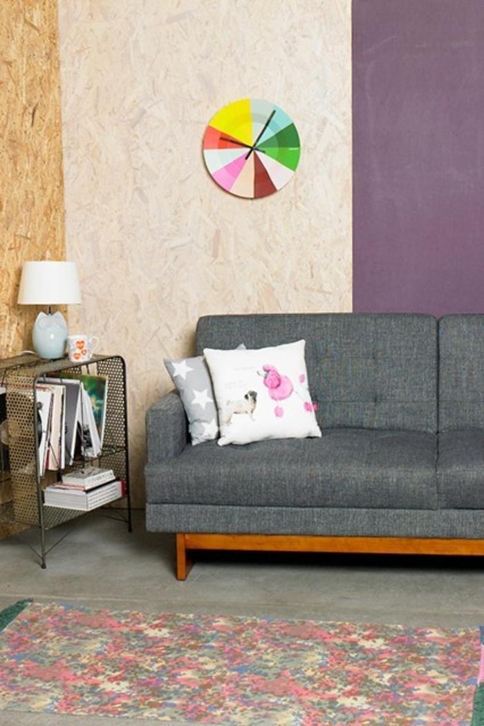 Raumgestaltung Ideen Wohnzimmer rustikale Möbel