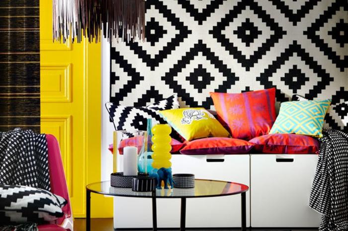 Farbliche Wandgestaltung Beispiele: Raumgestaltung Ideen, Wie Sie Ein Modernes Ambiente Gestalten