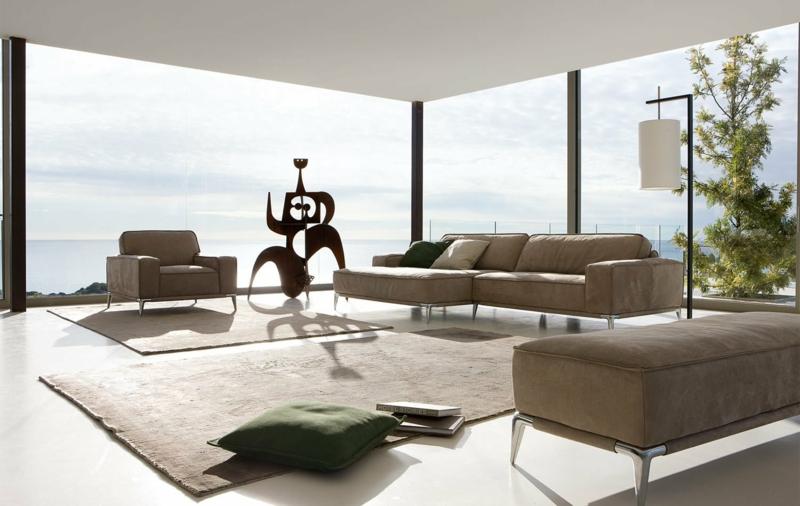dekoideen wohnzimmer: exotische stile und tolle deko ideen im ... - Wohnzimmer Einrichten Bilder
