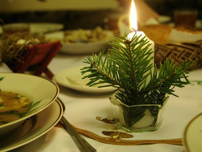 Russische Weihnachten Weihnachten Russland festtafel