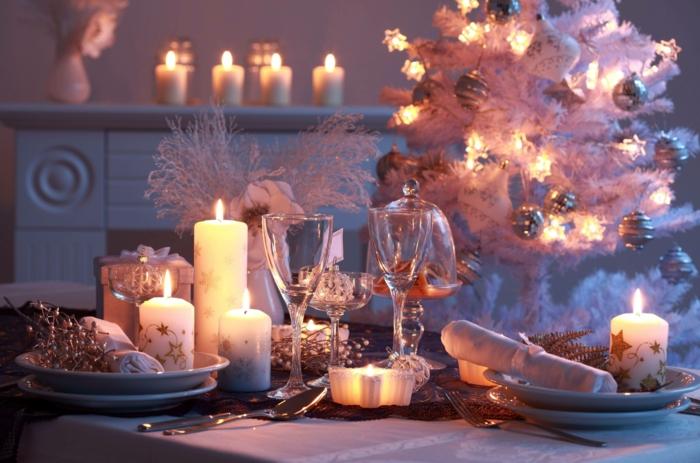 Russische Weihnachten Weihnachten in Russland weihnachtsbaum festltafel