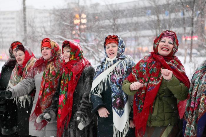 traditionen an weihnachten in russland