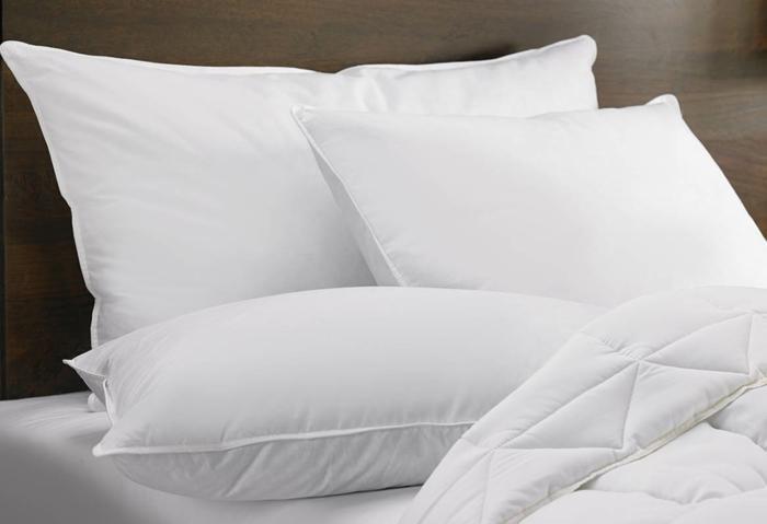 Schlafkissen schlafposition  seitenschlaeferkissen tempur kissen feder daunen mix