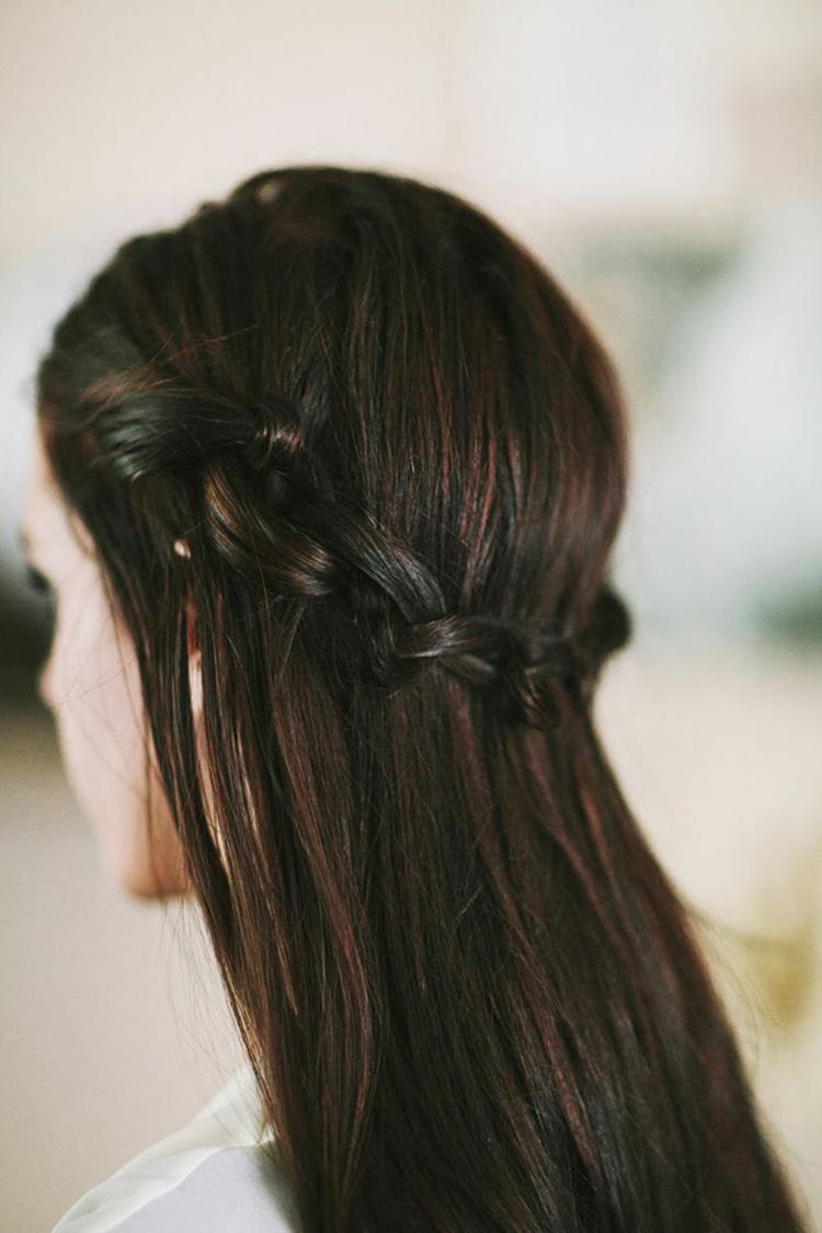 Silvester Frisuren lange Haare Flechtfrisuren