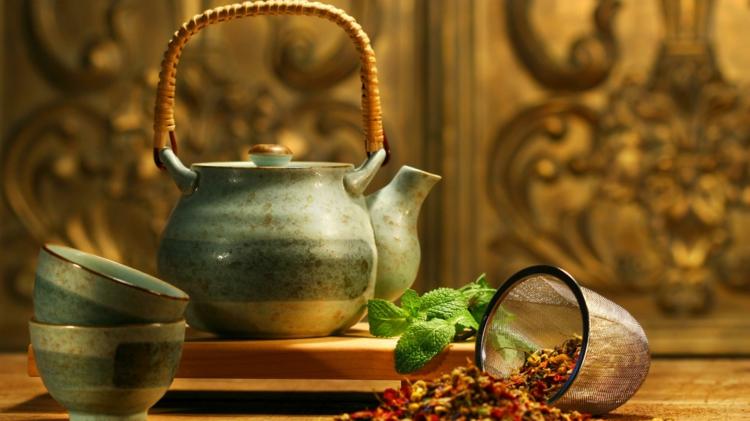 Tee trinken gesund verschiedene Teesorten