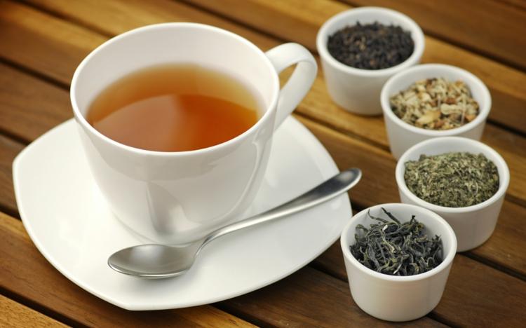 Teesorten Tee trinken gesund Tipps