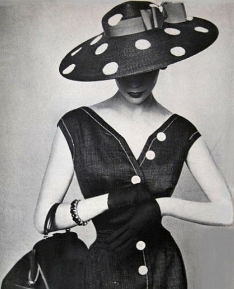 Vintage Kleider 50er Rockabilly Kleider Hut Mode