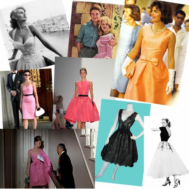 vintage kleider aus den verschiedenen dekaden des 20 jh. Black Bedroom Furniture Sets. Home Design Ideas