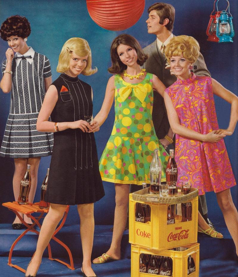 Платья моды 80-х