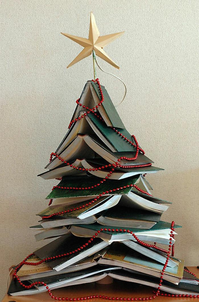 Weihnachtsbasteln Tannenbaum basteln Bücher