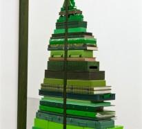 Weihnachtsbasteln: Woraus kann man einen Tannenbaum basteln?