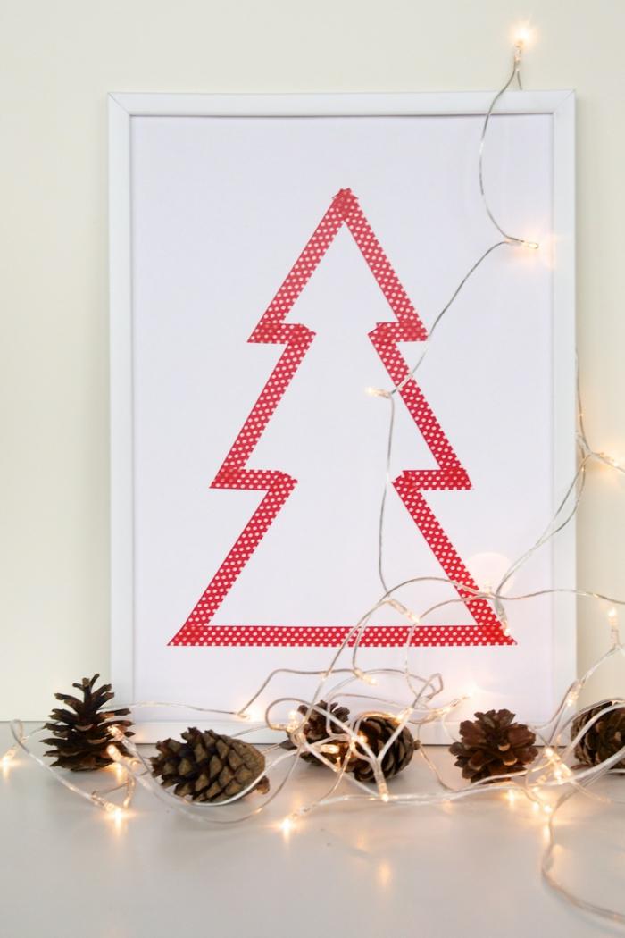 tannenbaum basteln 30 kreative diy ideen f r weihnachtsbasteln. Black Bedroom Furniture Sets. Home Design Ideas