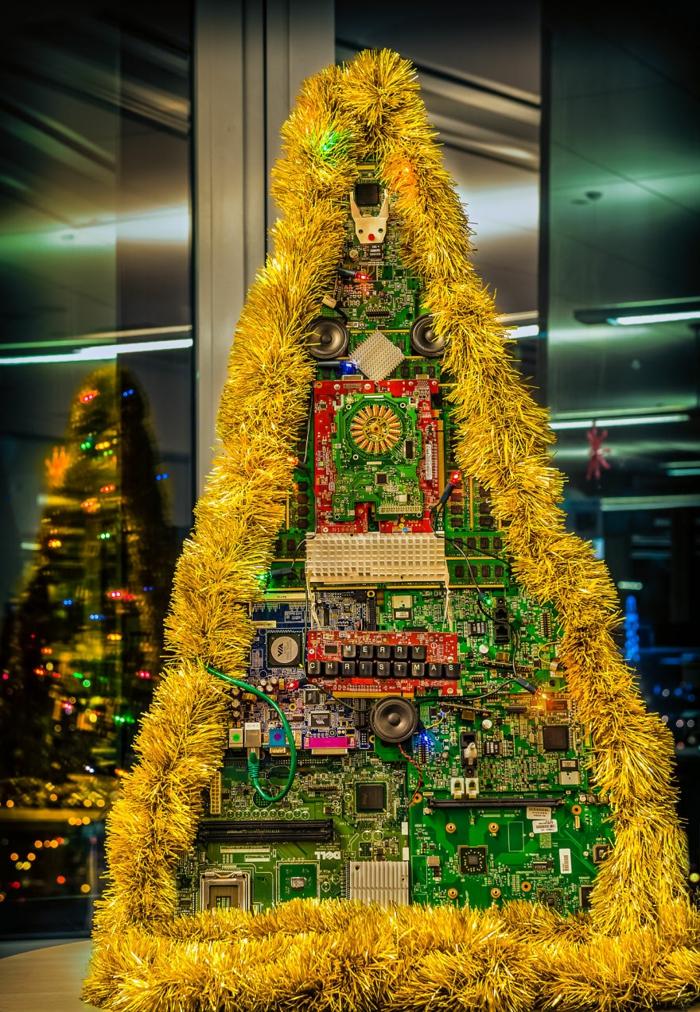 Weihnachtsbasteln Tannenbaum basteln Weihnachtsbaum selber basteln