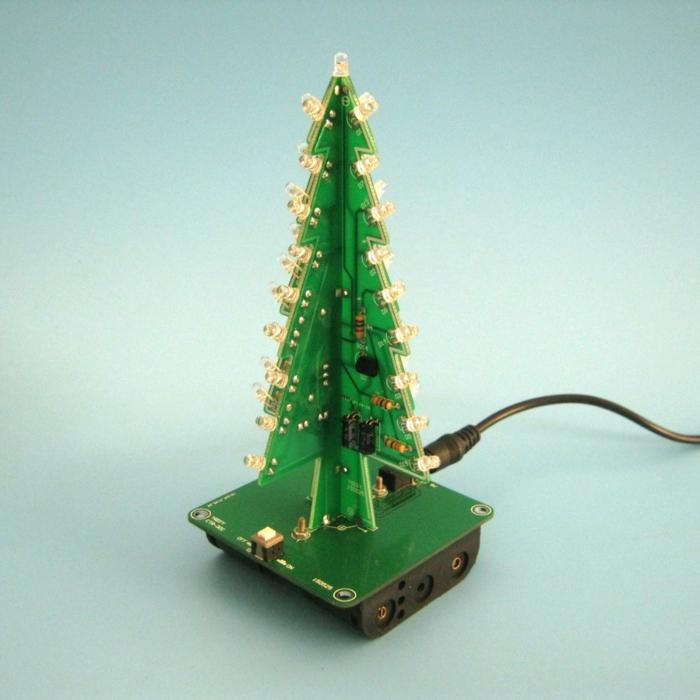 Computer Christmas Lights