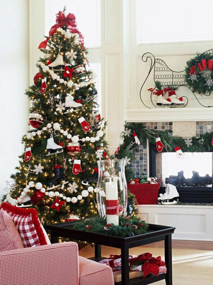 Weihnachtsdeko Ideen Weihnachtsbaum Weihnachtliches Basteln