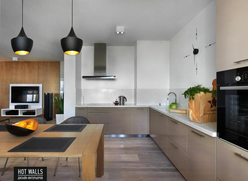 einrichtungsbeispiele wohnzimmer offener küche:Wohneinrichtung Ideen Küche einrichten Kücheninsel Holz