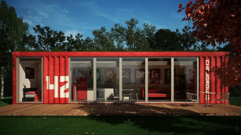 Wohnen im Container bemerkenswerte Containerhäuser