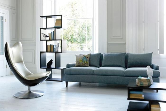Wohnraumgestaltung Ideen Moderne Wohnzimmer Egg Chair Amazing Design