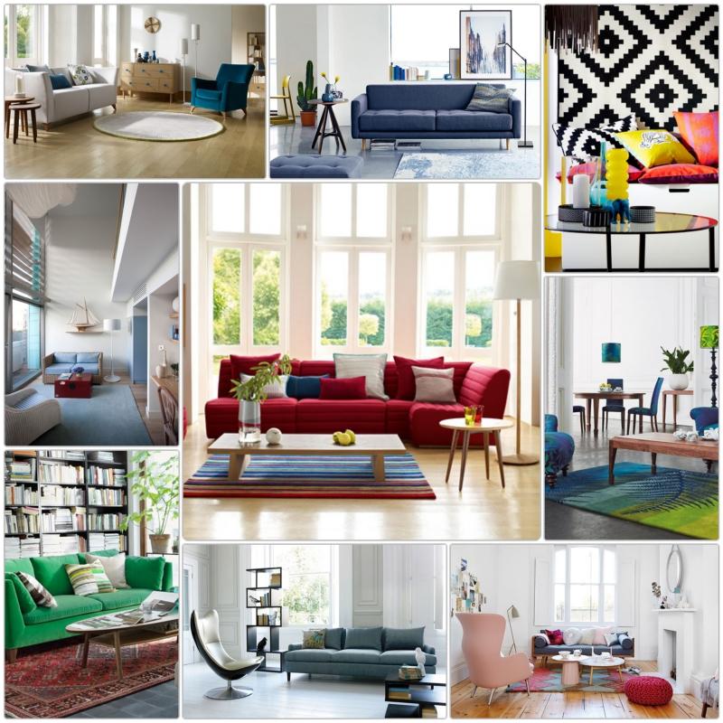 Wohnraumgestaltung Ideen Modernes Wohnzimmer Einrichtungsbeispiele