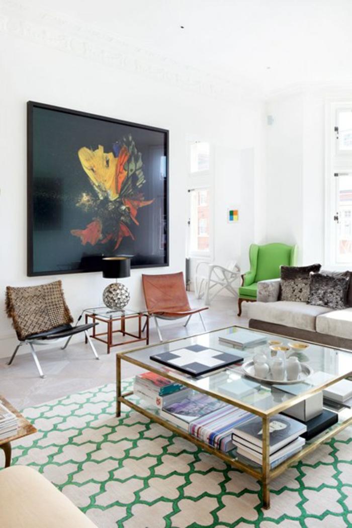 Wohnraum Gestaltungsideen modernes Wohnzimmermöbel