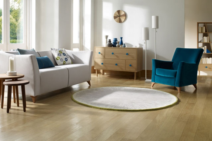 Wohnraumgestaltung modernes Wohnzimmer einrichten