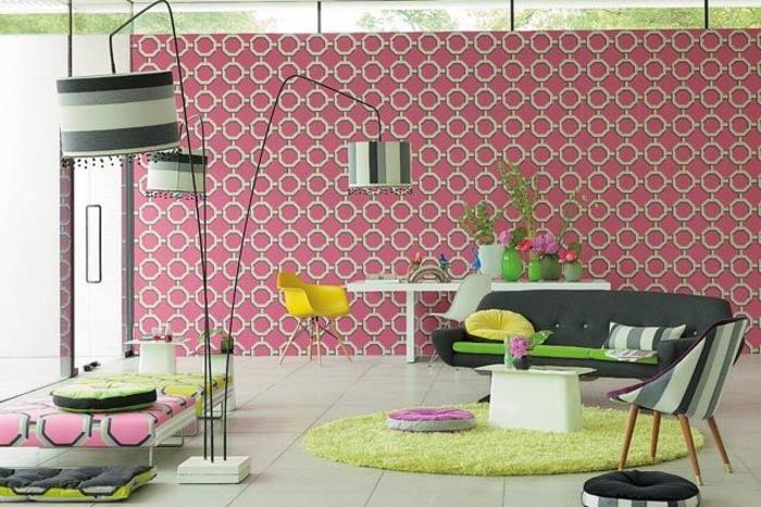 Wohnraumgestaltung modernes Wohnzimmer gestalten Einrichtungsbeispiele