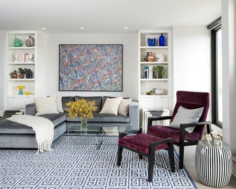 dekoideen wohnzimmer: exotische stile und tolle deko ideen im ... - Ideen Wohnzimmerwand