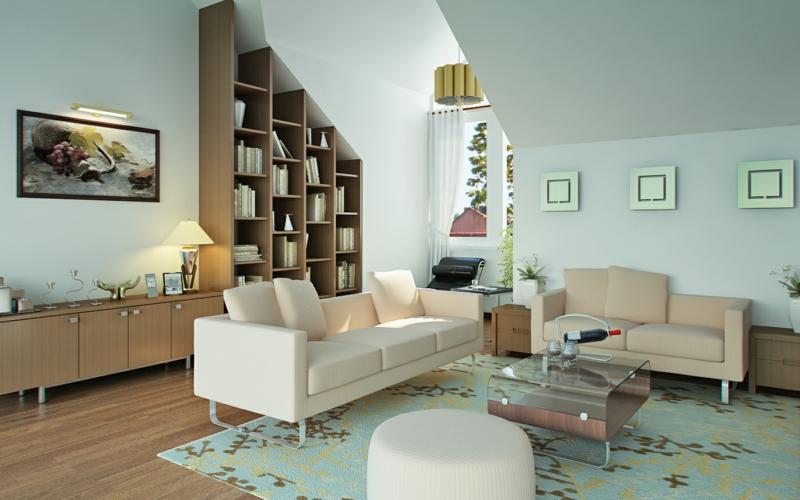 Wohnzimmerwand Ideen Wohnzimmerdeko Wandregale Holz
