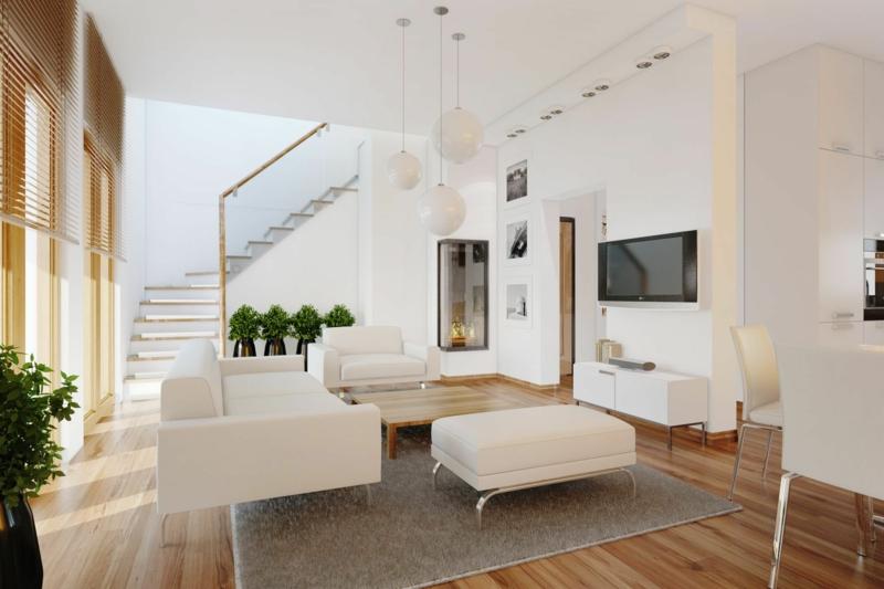 dekoideen wohnzimmer: exotische stile und tolle deko ideen im ... - Wohnzimmerwand Ideen
