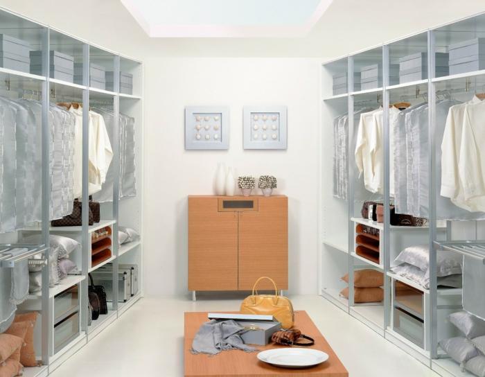 ankleide dekorieren ankleidezimmer einrichten offener kleiderschrank