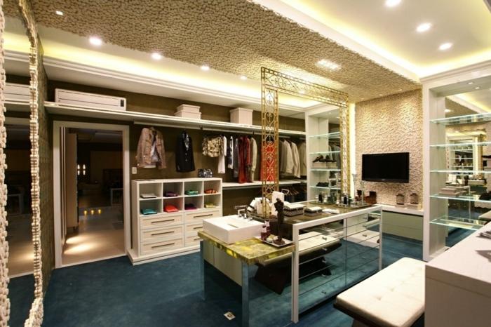ankleiderzimmer einrichten ankleide offener kleiderschrank